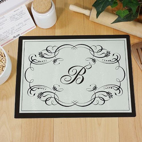 Monogram Kitchen Cutting Board