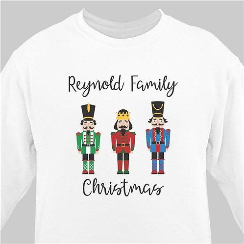 Personalized Christmas Nutcrackers Sweatshirt