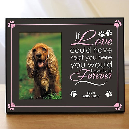 Forever Love Pet Remembrance Frame