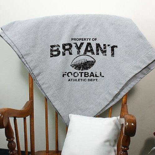 Personalized Property Of Sports Fleece Blanket