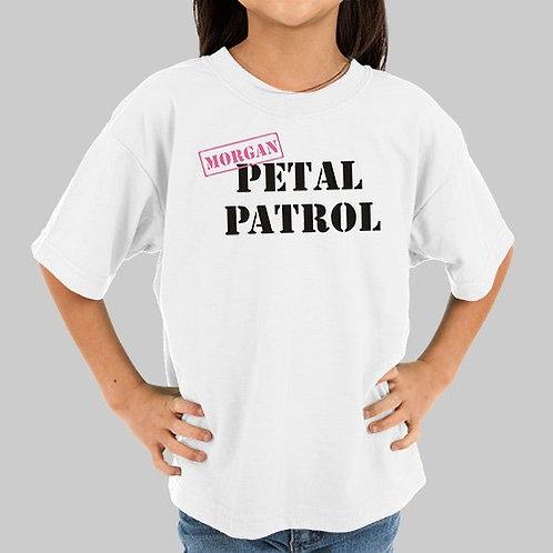 Petal Patrol Flower Girl T-shirt