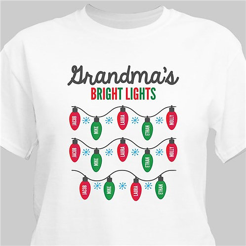 Personalized Bright Lights T-Shirt