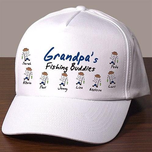 Fishing Buddies Personalized Hat