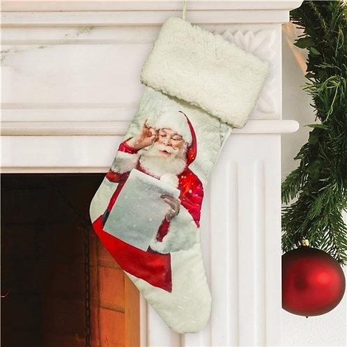 Santas Christmas List Stocking