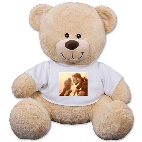 Personalized Photo Upload Sherman Bear