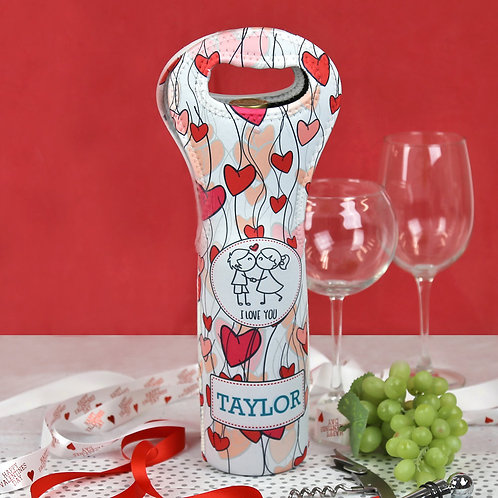 Personalized Insulated Wine Gift Bag