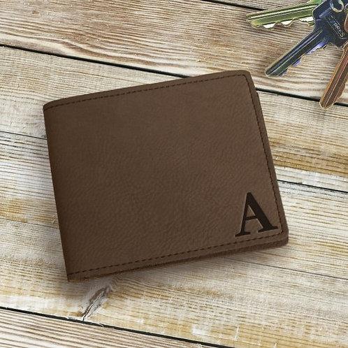 Monogram Leatherette Wallet