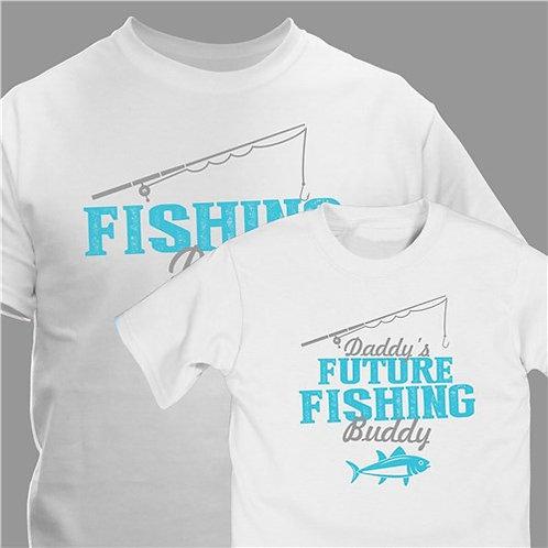 Personalized Future Fishing Buddy T-shirt