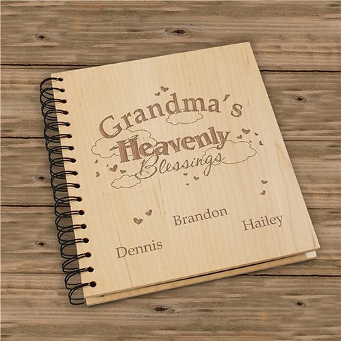Heavenly Blessings Personalized Photo Album
