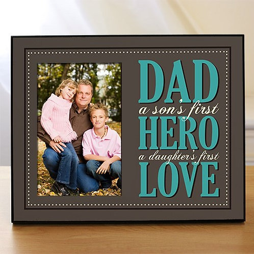 Personalized Dad Printed Frame