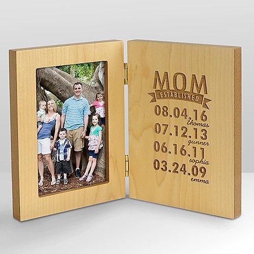 Her Established Wood Picture Frame