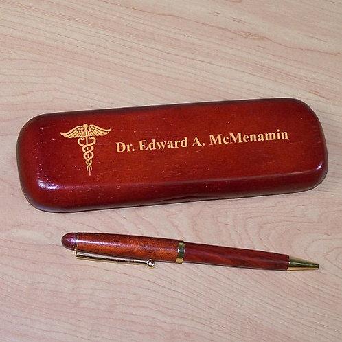 Medical Rosewood Pen Set