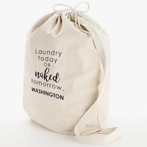 Laundry Today Custom Wash Bag w/ Shoulder Strap