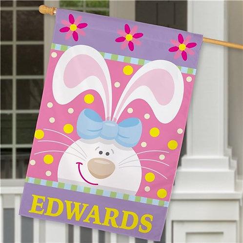 Easter Bunny House Flag