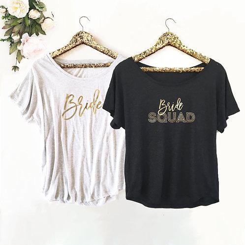 Bridal Theme Shirts - Loose Fit