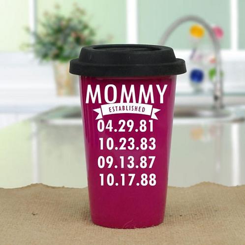 copy of Personalized Established Travel Mug- Her