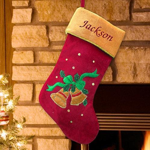 Bell Christmas Stocking