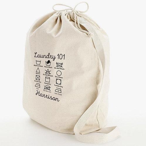 Laundry 101 Personalized Wash Bag w/ Shoulder Strap