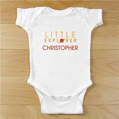Personalized Little Explorer Infant Bodysuit