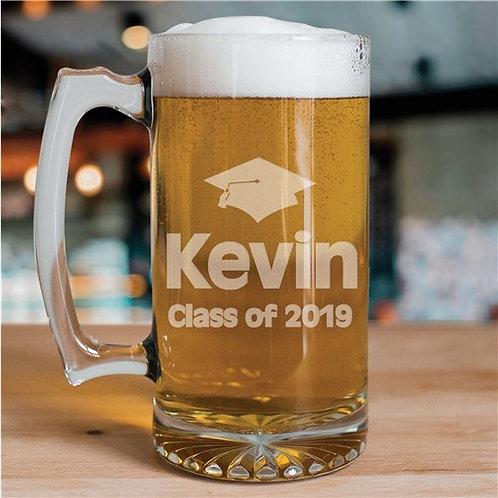 Class of Graduation Glass Mug