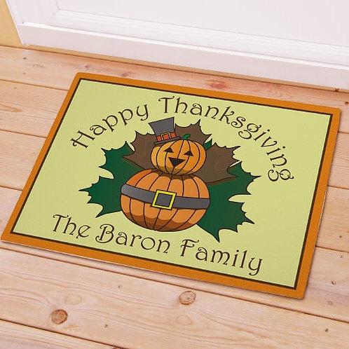 Personalized Thanksgiving Doormat