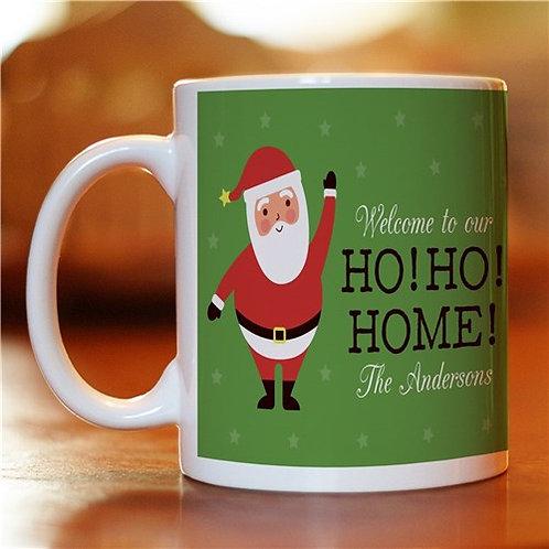 Personalized Ho Ho Home Coffee Mug