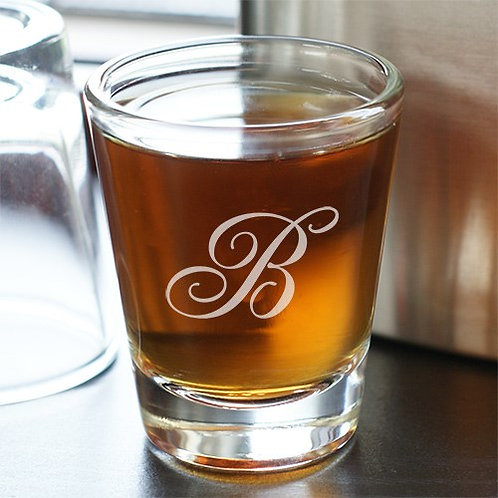 Monogram Shot Glass