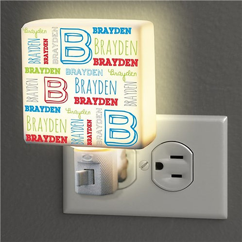 Personalized Kid's Name Night Light