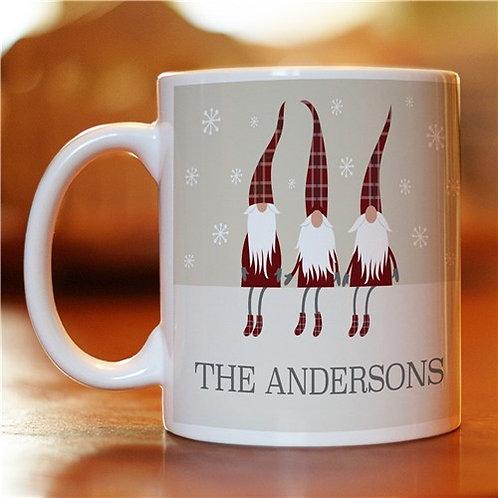 Personalized Welcome Gnome Coffee Mug