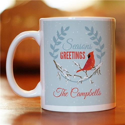 Personalized Seasons Greetings Coffee Mug