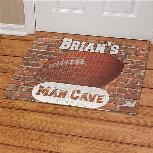Football Man Cave Doormat