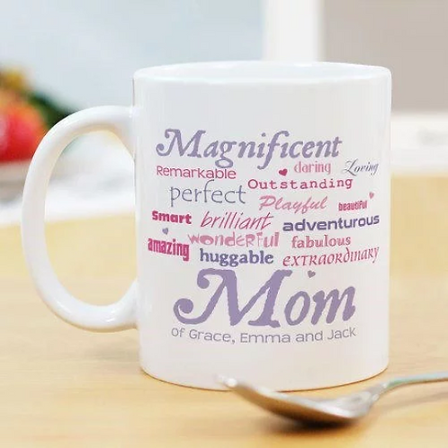 Magnificent Mom Personalized Mug