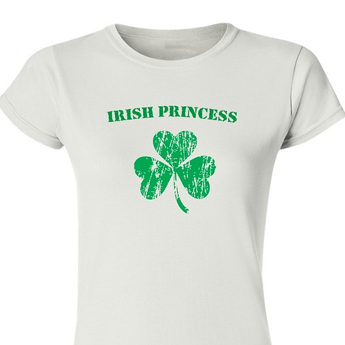 Personalized Irish Shamrock Women's T-shirt