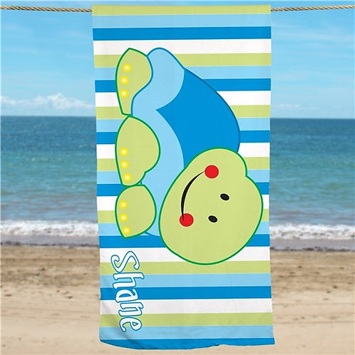 Personalized Turtle Beach Towel
