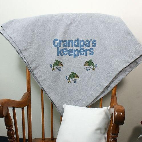 Personalized Keepers Fleece Blanket