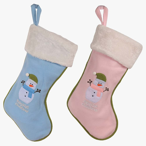 Baby's 1st Non-Personalized Plush Christmas Stocking