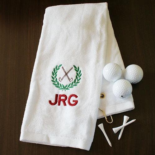 Golf Club Personalized Golf Towel