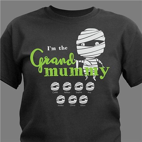 Personalized I'm The Grand Mummy T-Shirt