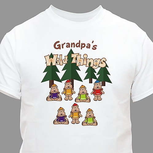 Personalized Wild Things Christmas T-shirt