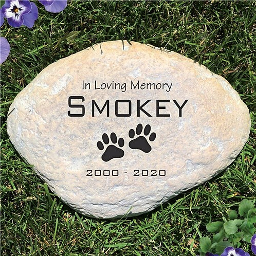 Pet Sympathy Garden Stone