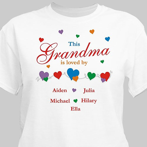 This Person Is Loved By Personalized T-Shirt