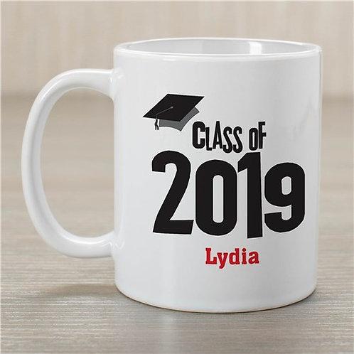Graduation Cap Class of Graduation Personalized Coffee Mug