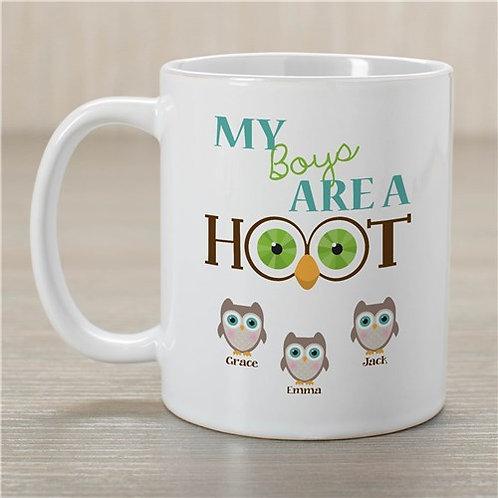 Personalized Are a Hoot Mug