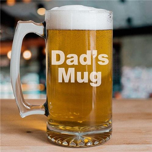 Personalized Message Glass Mug