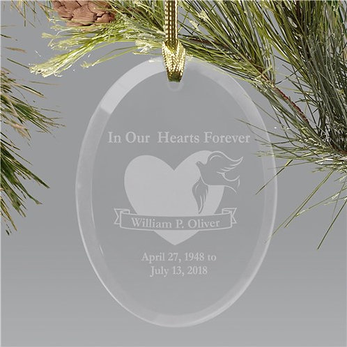 In our hearts Sun Catcher