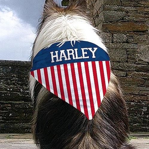 Patriotic Dog Bandana