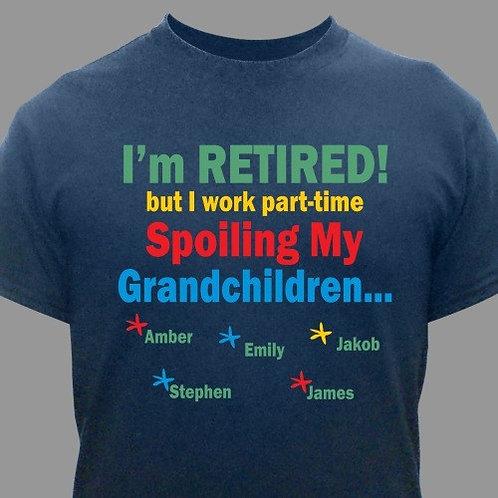 Personalized Grandpa Retirement Shirt