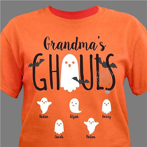 Personalized Grandmas Ghouls T-Shirt