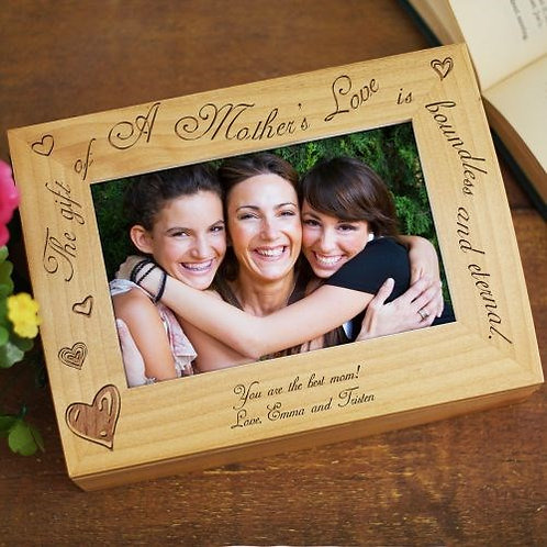 A Mother's Love Photo Keepsake Box
