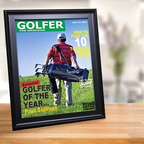 Golf Magazine Cover